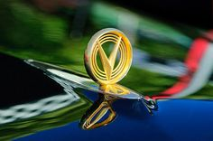 Buick Images by Jill Reger - Images of Buicks - 1955 Buick Roadmaster Hood Ornament