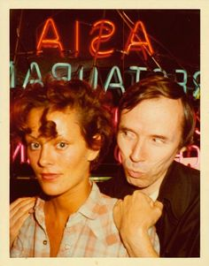 Back when glamour was glamour....Jane Forth and Bill Cunningham.