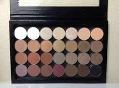 Neutral Heaven!! <3 Customized Neutral Palette using Makeup Geek eyeshadows. Post includes photos, descriptions and swatches reviewing each shade!