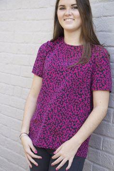 Georgie Top Pattern - Patterns - Tessuti Fabrics - Online Fabric Store - Cotton, Linen, Silk, Bridal & more
