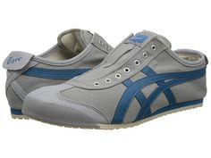 Onitsuka Tiger By Asics Mexico 66 Slip On Light Grey Seaport       Asics