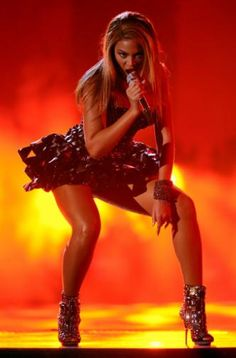 Beyoncé performs on the 52nd Annual GRAMMY Awards on Jan. 31 at Staples Center in Los Angeles