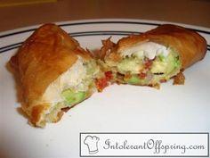 avocado egg rolls!!  MSPI safe