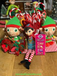 Another example of the variety of candy canes grown, this year they were milkshake varieties. Woodland Elf, Candy Canes, Father Christmas, Magical Creatures, Family Traditions, Milkshake, Easter Bunny, Elf On The Shelf, Elves