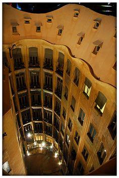 La Pedrera inside, Barcelona, Spain Copyright: Oscar Marquez