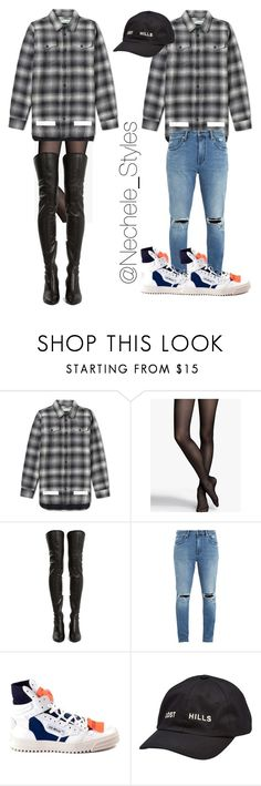 """Untitled #239"" by talishaness-1 ❤ liked on Polyvore featuring Express, Yves Saint Laurent, Neuw denim, Off-White and Yeezy by Kanye West"