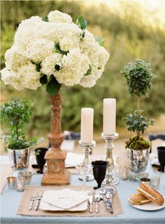 Lovely tablescape...