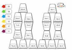 Kodowanie na dywanie: Kubeczkowa matematyka Cute Coloring Pages, Simple Math, D 20, Computer Keyboard, Education, School, Google, Gaming, Cuba