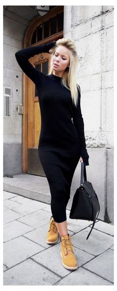 Outfits Con Botas Timberland, Mode Timberland, Timberland Boots Women, Timberland Nellie, Look Fashion, Fashion Outfits, Womens Fashion, Mode Outfits, Winter Fashion