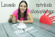 NutriReceta: Licuado Kids de ChocoPlàtano
