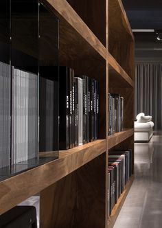 Depth of shelving & type of veneer