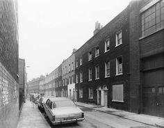 Rawstorne Street, looking east in 1978 Photograph in the possession of EH (GLC 78/2006) http://www.british-history.ac.uk/report.aspx?compid=119426