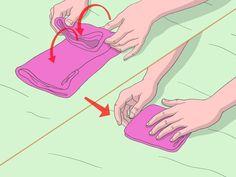 Как быстро сложить одежду