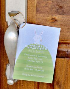 Darling Easter Egg Hunt Invitation