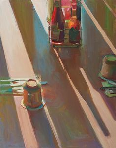 Boyd Gavin: Still Life With Coffee Cups Still Life Oil Painting, Love Painting, Artist Painting, T Lights, People Art, Light And Shadow, 21st Century, Coffee Cups, Artwork