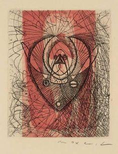 , gravieren von Max Ernst (1891-1976, Germany)