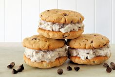Sandwich Cookies, Cookies Et Biscuits, Smoothies, Sandwiches, Muffin, Meals, Breakfast, Video, 3