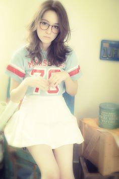 長岡信一(Belle表参道) #hair #longhair #girl