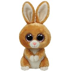Ty Carrots the Bunny Rabbit Beanie Boos Stuffed Plush Toy #Ty