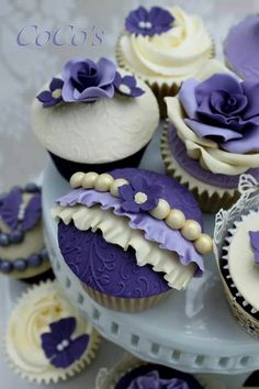 wedding cake seedfinder purple princess cupcake dress for a royal birthday 24256