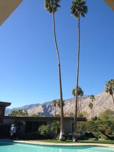 Frank Sinatra's house | Modernism Week in Palm Springs, California | Jet Planes + Coffee