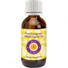 Pure Fenugreek(Methi) Carrier oil  50ml- Trigonella foenumgraecum  100% Natural Cold pressed
