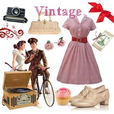 A fashion look from January 2011 featuring swimsuit swimwear, wedge shoes and lacoste watches. Browse and shop related looks. Rockabilly Outfits, Rockabilly Fashion, Vintage Outfits, Vintage Fashion, Character Inspired Outfits, Pin Up Style, Romantic, Fashion Outfits, Polyvore