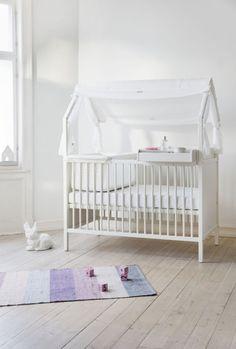 Norwegian Design: Stokke, Stokke Home Bed, White
