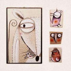 quadri, spille e collanine Serena Balbo http://www.pappappero.com/index.php/catalogsearch/result/?q=serena+balbo