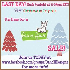 ENDS TONIGHT (08/04/2016) at 11:59pm EST! Join us at Facebook.com/groups/oandhdesigns for sale details! #oandhdesigns #lawnfawn #planner #planneraddict #plannercommunity #plannerlove #scrapbooking #stamps #clearstamps #rubberstamp #inkpad #stationery #stationeryaddict #stationerylove