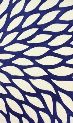 Betsy Bloom Rug - Blue