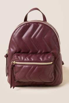 Handbags : Cynthia Quilted Chevron Backpack #Handbags https://inwomens.com/2018/02/10/handbags-cynthia-quilted-chevron-backpack/