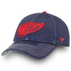 super cute 13d2a f0e36 Men s Detroit Red Wings Fanatics Branded Navy Starry Knight Fundamental Adjustable  Hat, Your Price   23.99