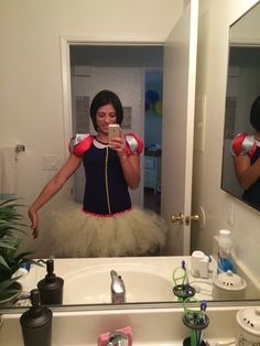 Diy Snow White Costume, White Costumes, Ballet Skirt, Skirts, Fashion, Moda, Skirt Outfits, Fasion, Skirt