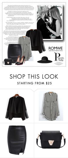 """""""Night bird"""" by zina1002 ❤ liked on Polyvore featuring H&M"""