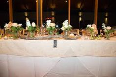 Image result for bridal table reception