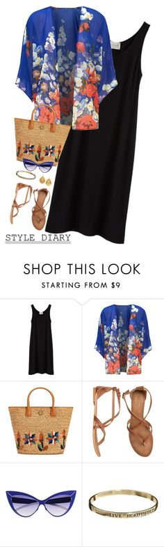 """""""Style Diary - Love this look"""" by musicfriend1 ❤ liked on Polyvore featuring La Garçonne Moderne, Parisian, Tory Burch, Matisse, Mykita, ASOS and Kevia"""