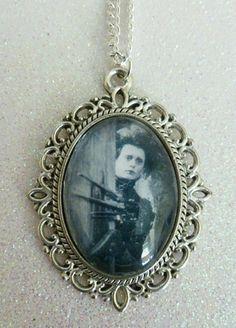 Edward Scissorhands Cameo Necklace 2 by CalamityJayneDesigns, £4.99