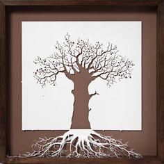 art, sculpture, paper craft