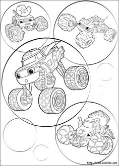 Let Us Take A Look At Some Top Blaze And The Monster Machines Coloring Pages From Series That We Have Got For You Sheets