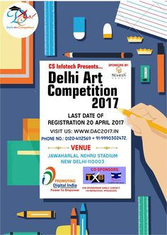 #DAC2017 #RegistrationsOpen #ArtEventDelhi #CompetitionForKids To register for dac2017, visit our website at https://www.dac2017.in/