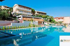Hotel Marina Apartments Agios Gordis, Corfu, Grecia Corfu, Creta, 1, Mansions, House Styles, Apartments, Outdoor Decor, Home Decor, Decoration Home