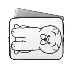 Chow Chow Dog Cartoon Computer Sleeves