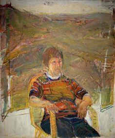 Portrait of Rachel Shavit by Eliahu Gat
