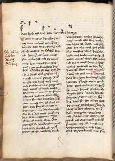Beheim, Michael: Gedichte Österreich, 3. Viertel 15. Jh. Cgm 291  Folio 738