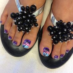 Amazing Tips For The Best Summer Nails – NaiLovely Pretty Toe Nails, Cute Toe Nails, Pretty Toes, Fancy Nails, Diy Nails, Pedicure Nail Art, Pedicure Designs, Diy Nail Designs, Toe Nail Art