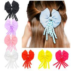 >> Click to Buy << New Double Layer Bowknot Hairpin Girl Roll Belt Multicolor Hair Clips Kids Hair Accessories Headdress Hair Ornaments Top Quality #Affiliate