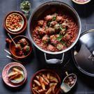 Try the Albóndigas Recipe on williams-sonoma.com/
