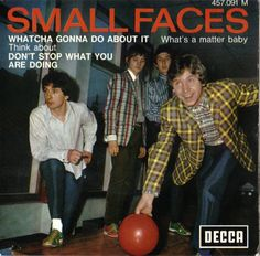 Small Faces album  - bowling cover