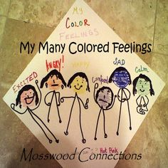 social skills activity that uses colors to define feelings